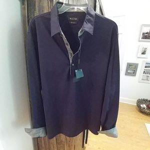 Massimo Dutti NWT soft cotton shirt